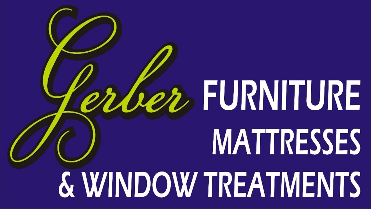 Gerber Furniture Mattress and Window Treatments Logo